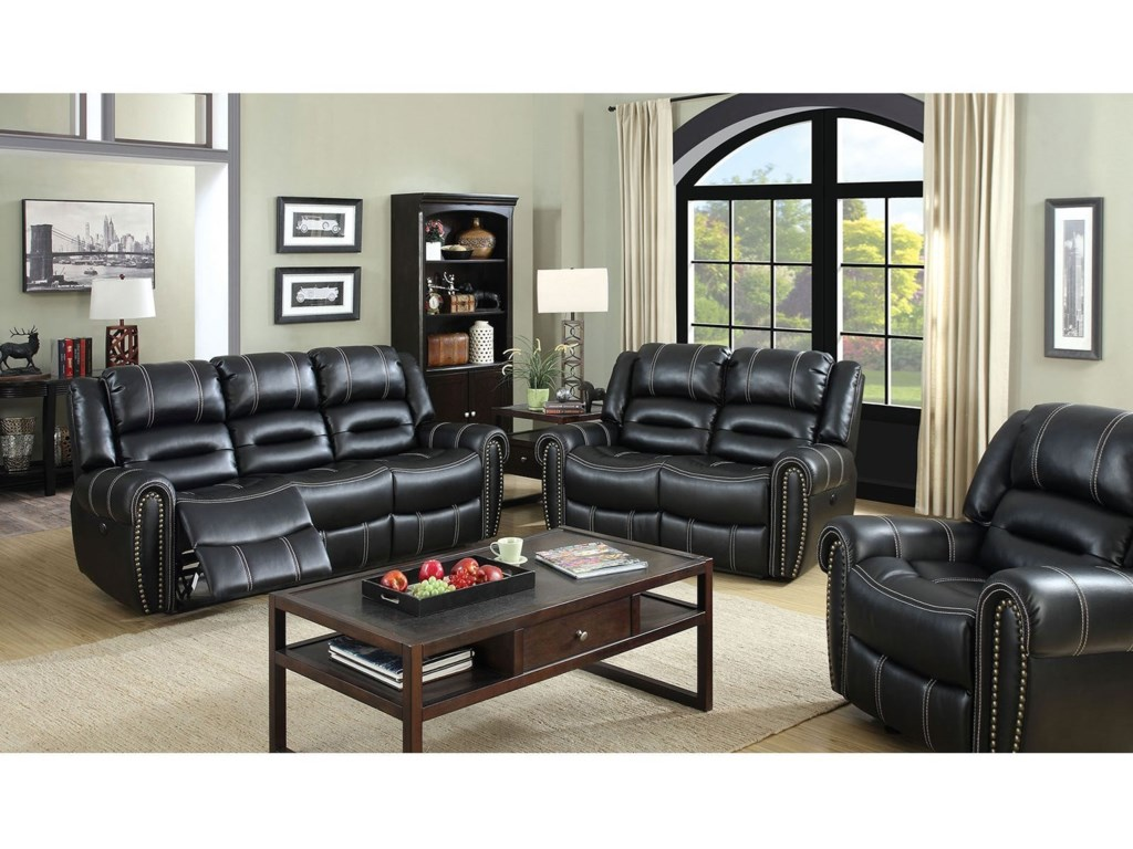 Furniture of America FrederickPower-Assist Loveseat
