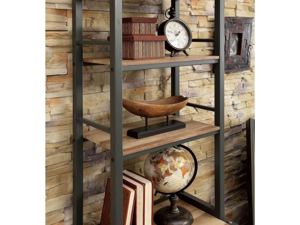 Furniture of America GalwayIndustrial Pier Cabinet