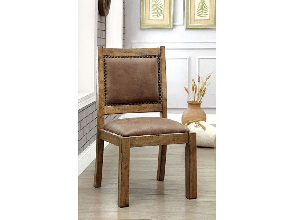 723d7400725c Furniture of America Gianna CM3829SC-2PK Rustic 2 Pack of ...