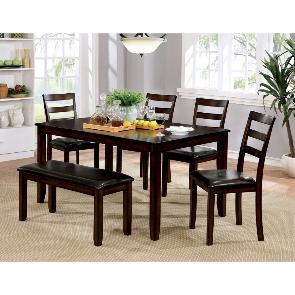 Leather Dining Room Chairs Set Of 6