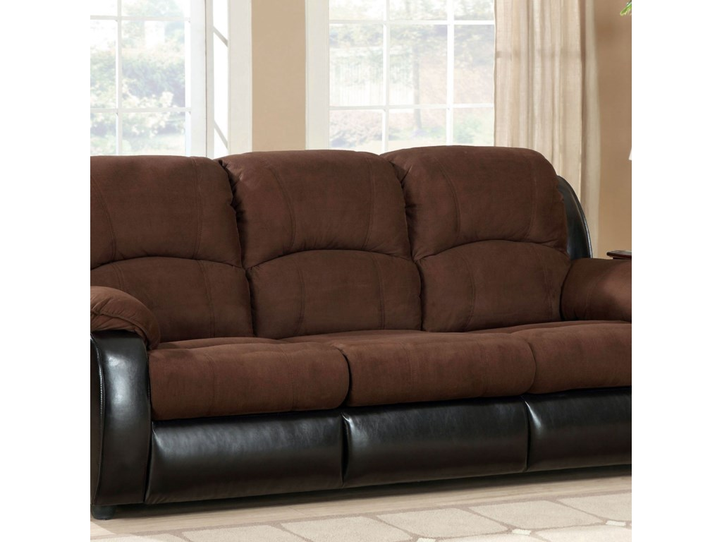 Furniture of America GrandeSofa w/ Queen Size Sleeper