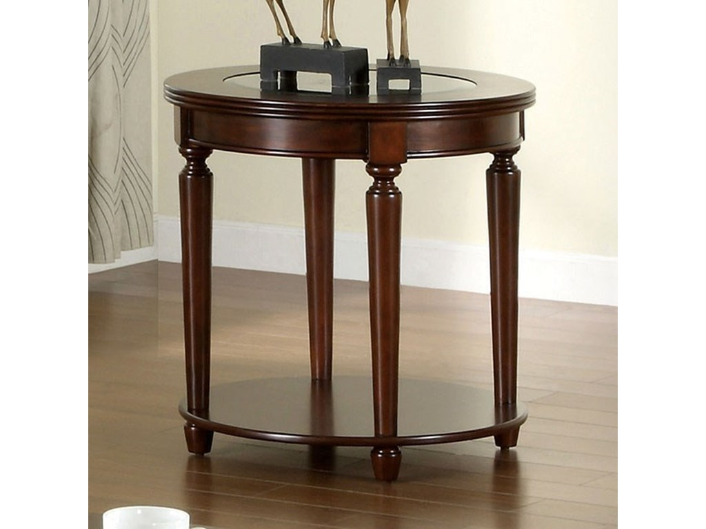 Furniture Of America Granvia Transitional End Table