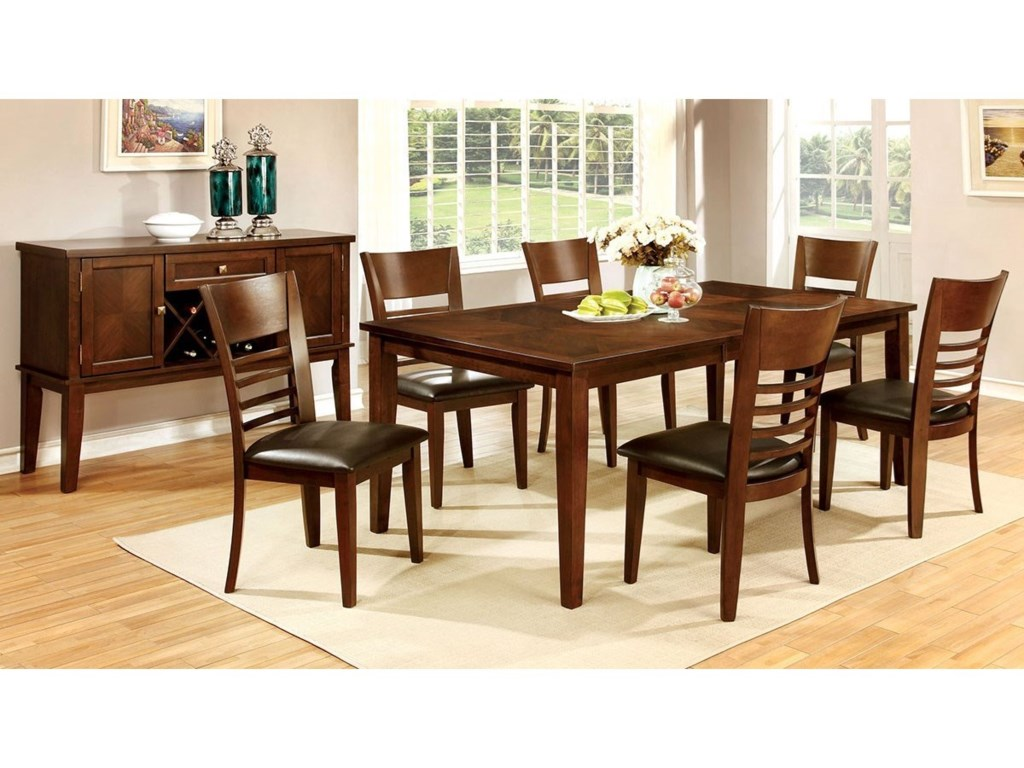 Furniture of America HillsviewDining Table