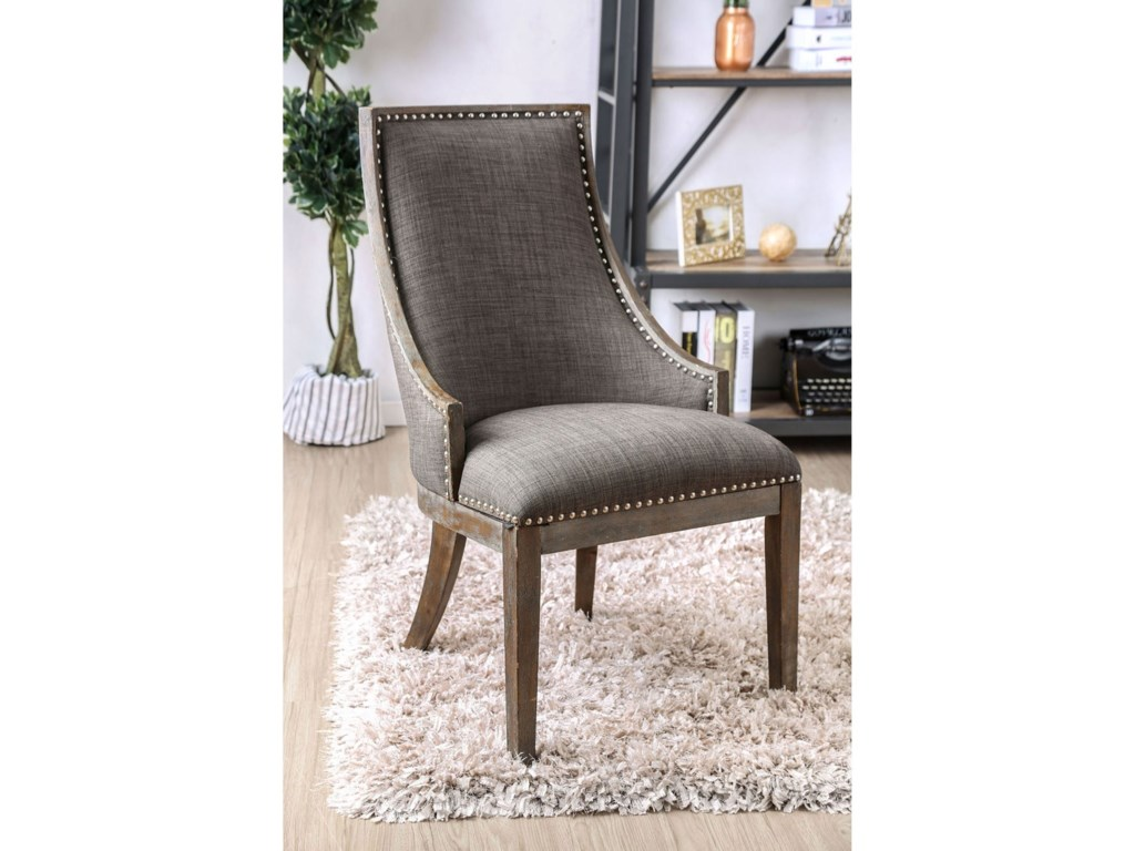 America Accent Chairs.Furniture Of America Iqaluit Contemporary Accent Chair Rooms For
