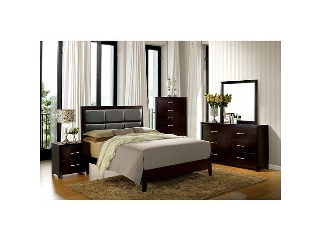 Furniture of America JanineQueen Bedroom Group