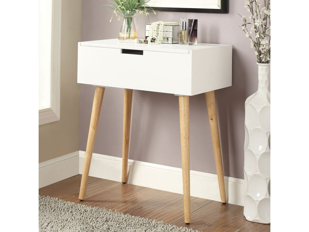 90c896ae208 Jewel Contemporary Lift-Top Vanity Table with Mirror by Furniture of  America. Jewel Collection