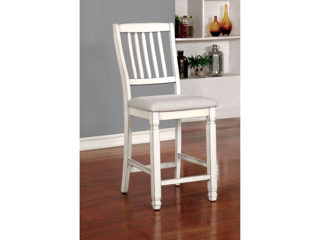 Furniture Of America Kaliyahset 2 Counter Height Chairs