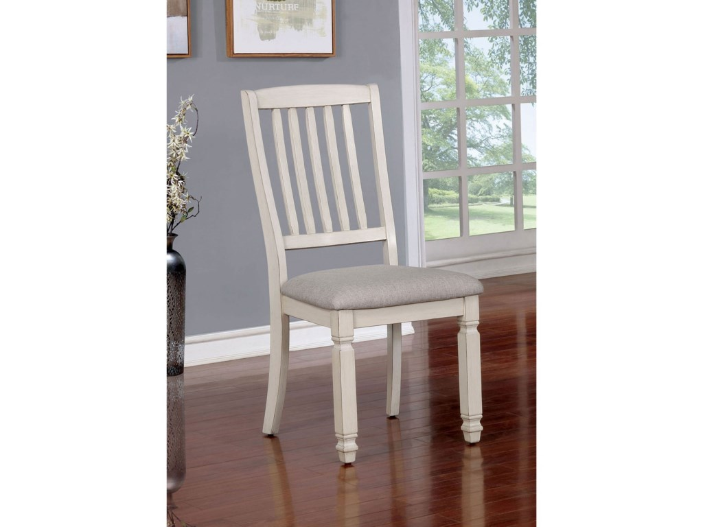 Furniture Of America Kaliyahset 2 Side Chairs