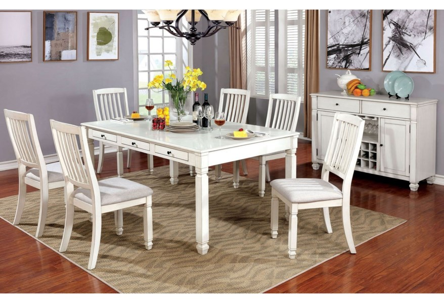 Kaliyah 7 Pc Dining Set
