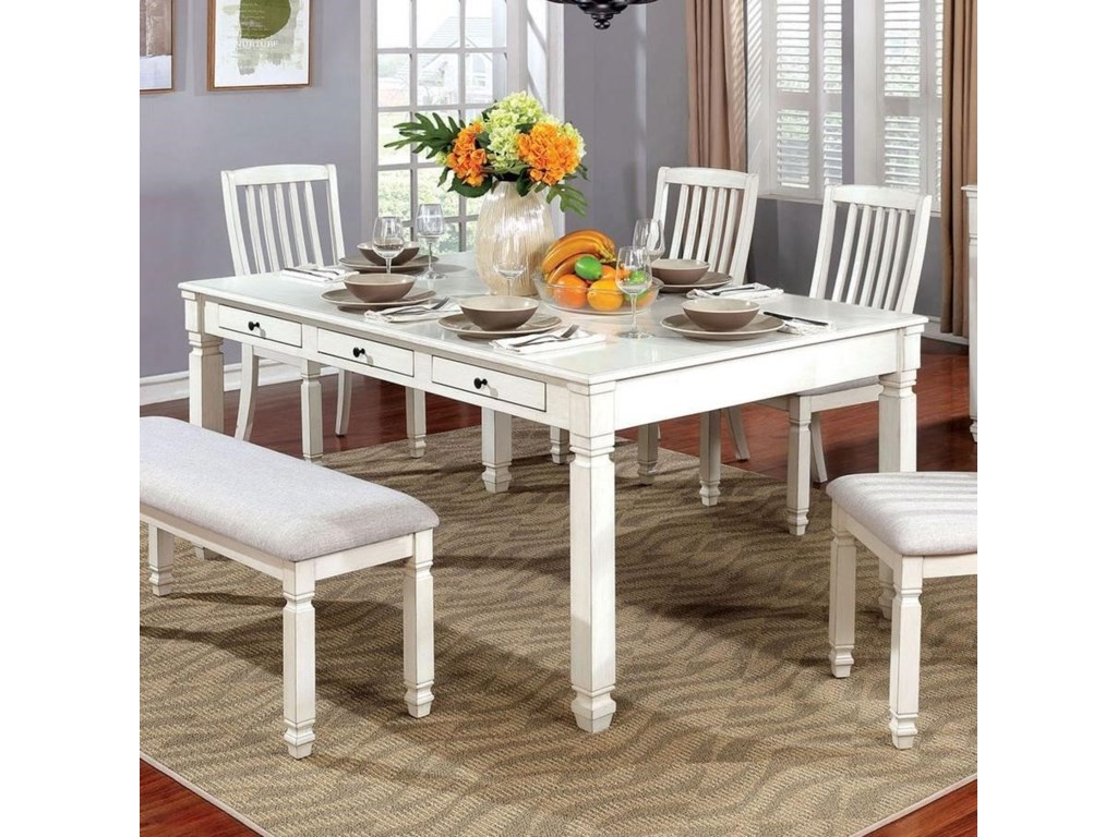 Furniture Of America Kaliyahdining Table