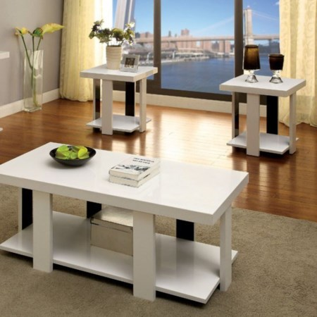 3 Pc. Table Set (Coffee + 2 End)