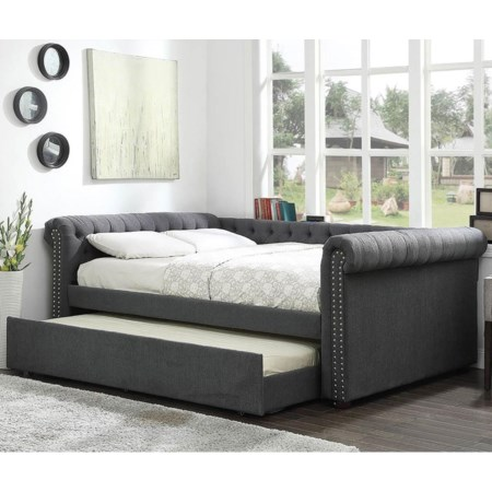 Queen Daybed w/ Trundle