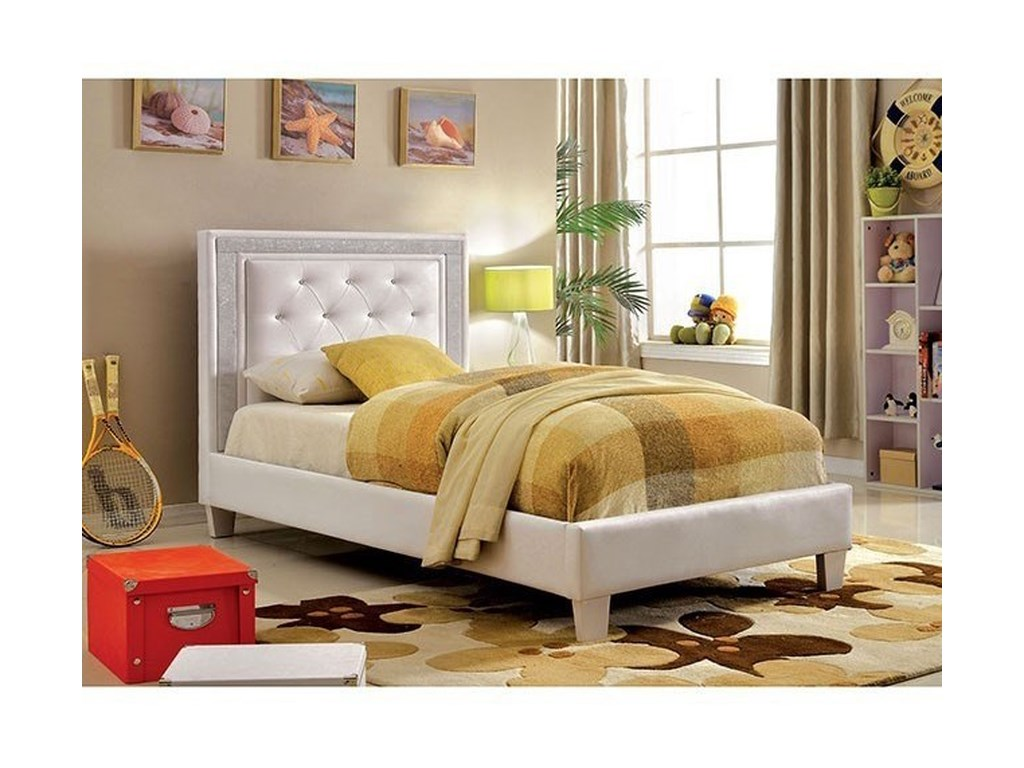 Furniture of America LianneTwin Bed