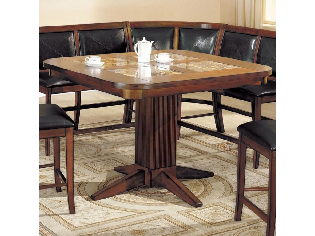 Furniture Of America Living Stone Iicounter Height Table