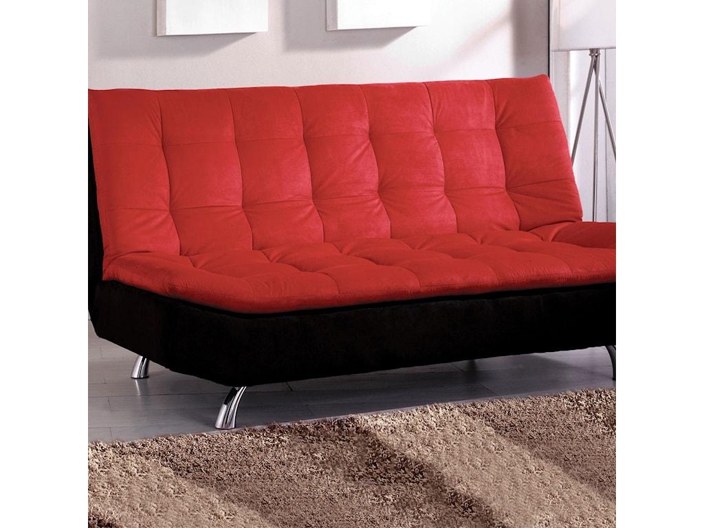 Furniture Of America Maliicrofiber Futon Sofa
