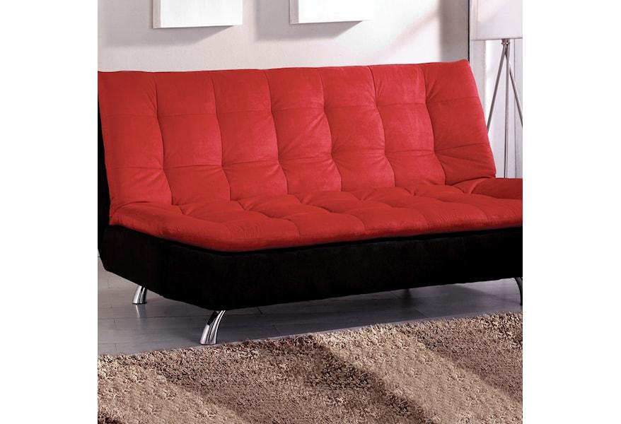 Malibu Microfiber Futon Sofa