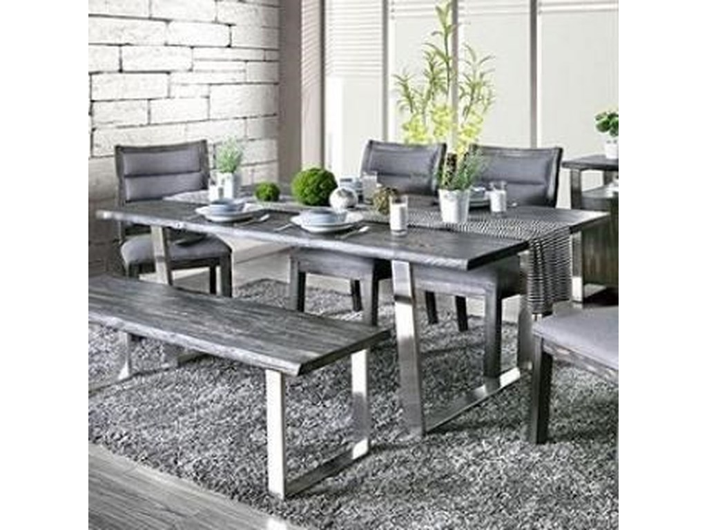 Furniture of America MandyDining Table