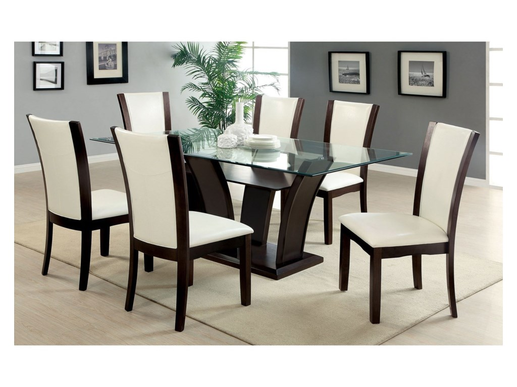 Manhattan I Ii Table And 6 Side Chairs