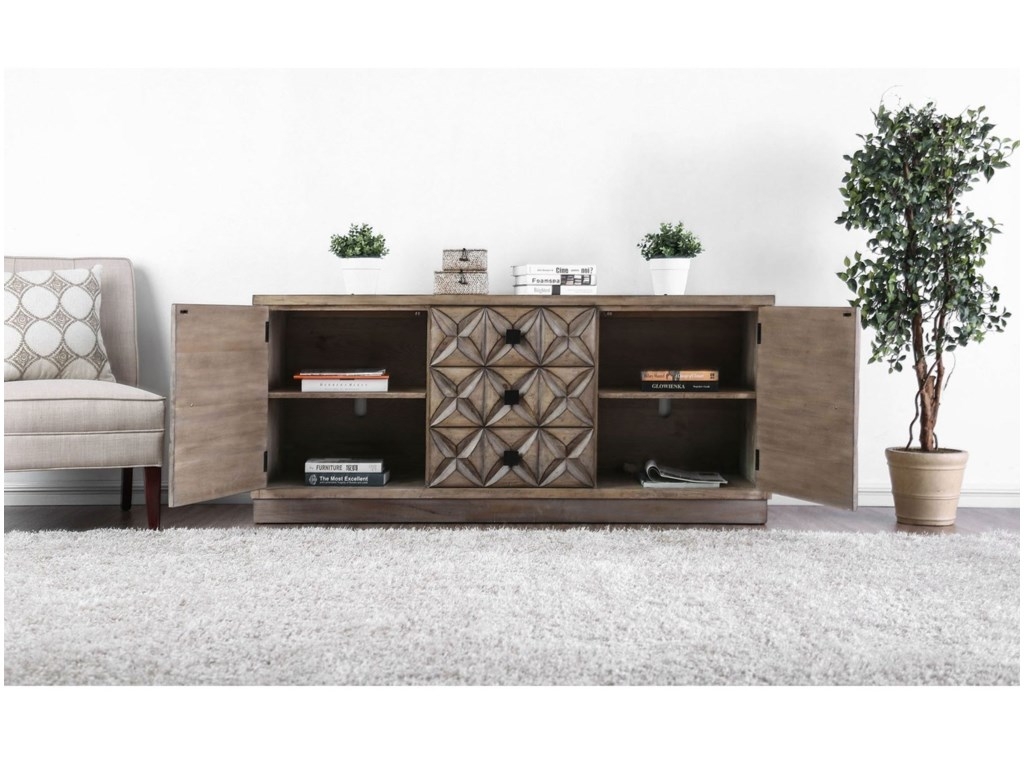 Furniture of America Markos IITV Stand
