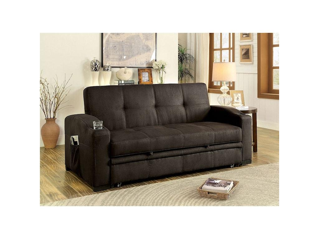 Mavis Futon Sofa by America at Del Sol Furniture