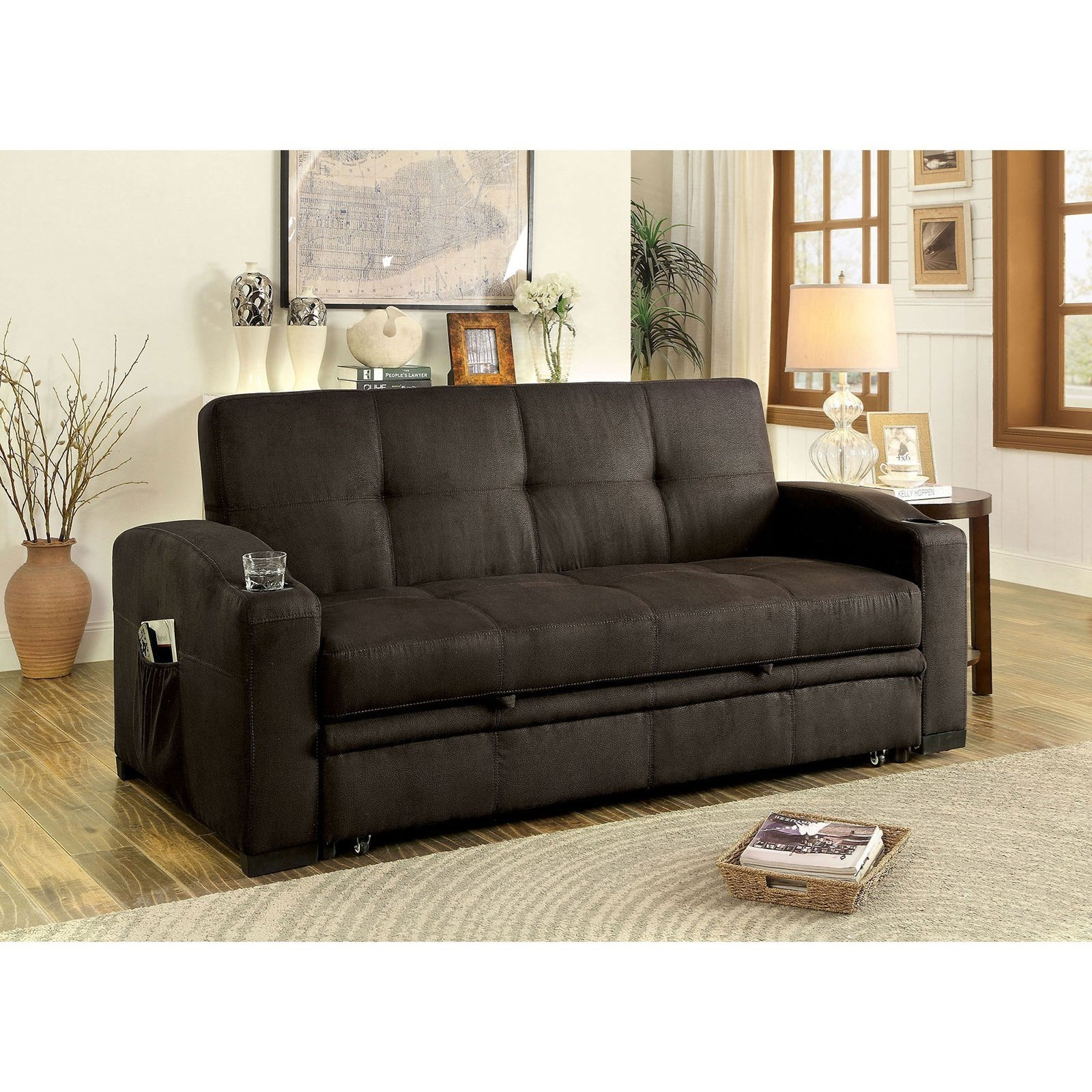 Furniture Of America MavisFuton Sofa