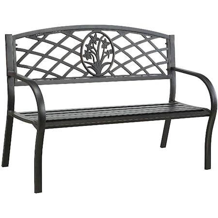Patio Steel Bench