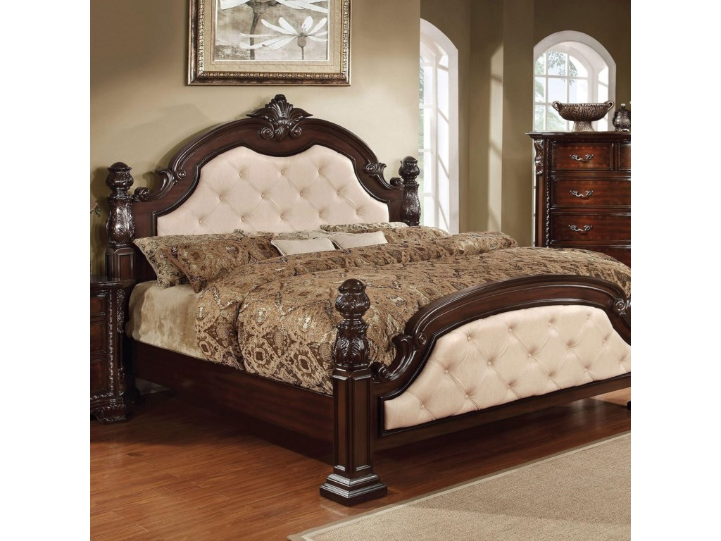 Furniture of America Monte Vista IKing Poster Bed