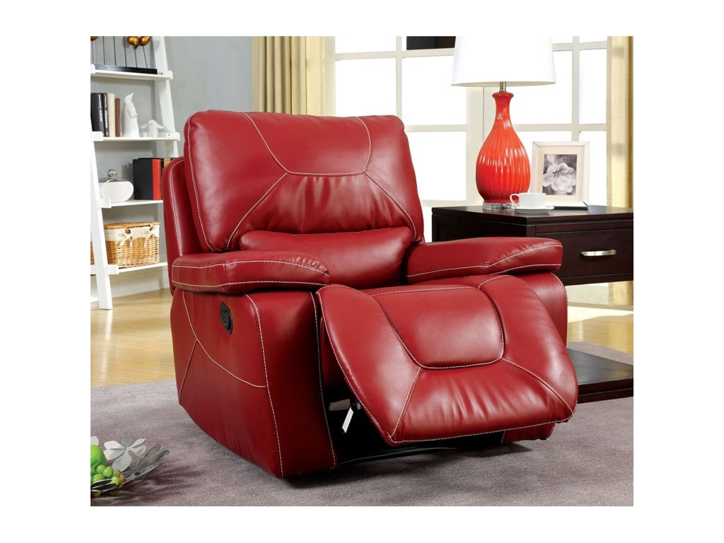 Furniture of America NewburgGlider Recliner