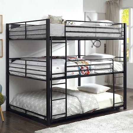 Queen Triple Decker Bed