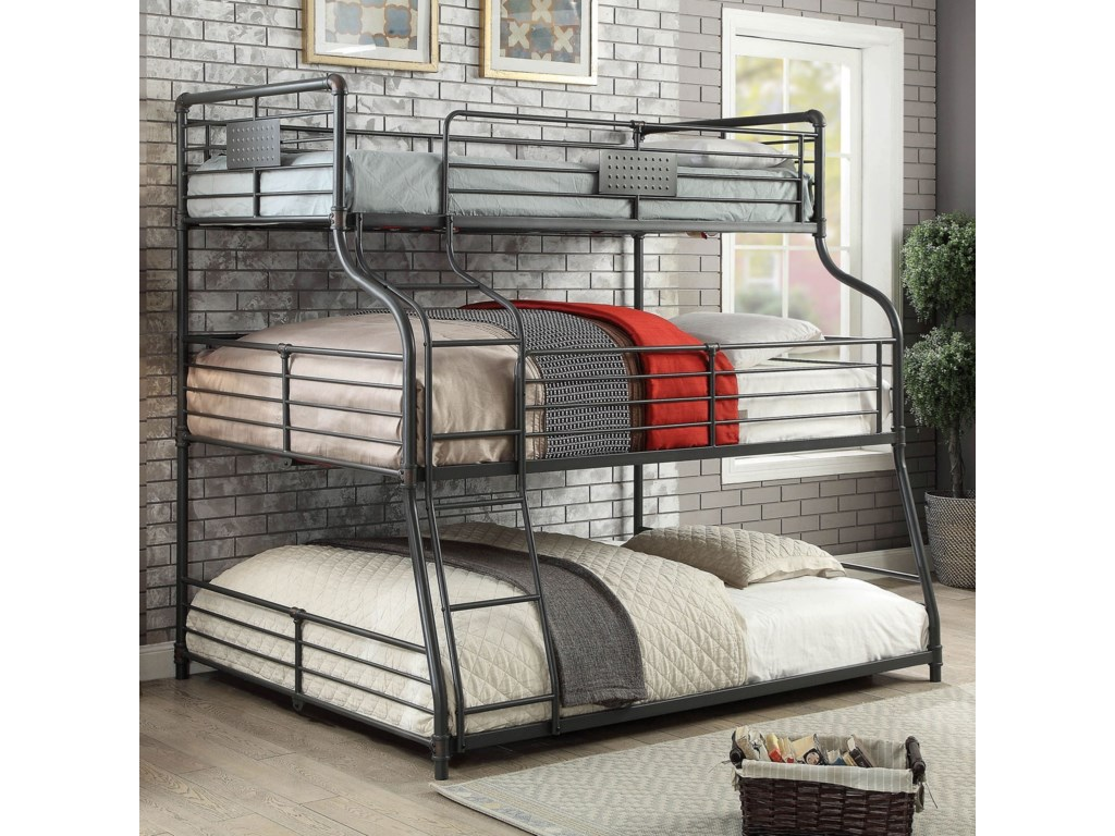 Olga Iii Twin Full Queen Bunk Bed By America At Del Sol Furniture