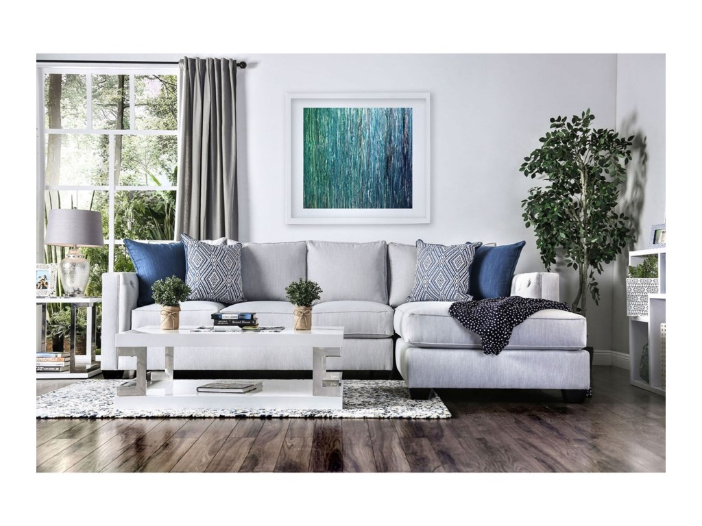 Furniture of America OrnellaSectional