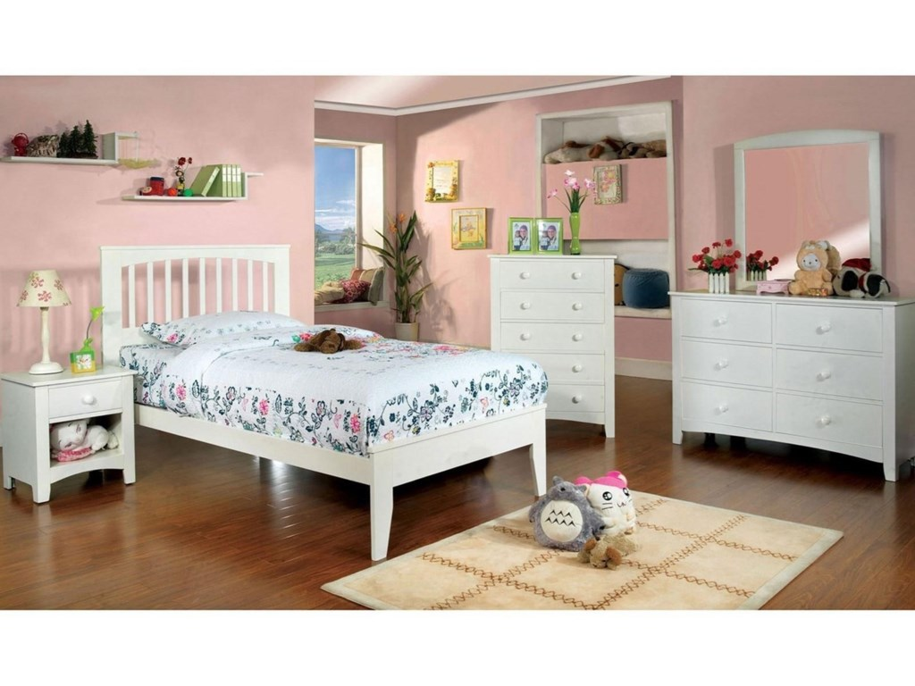 Furniture of America Pine BrookFull Bed