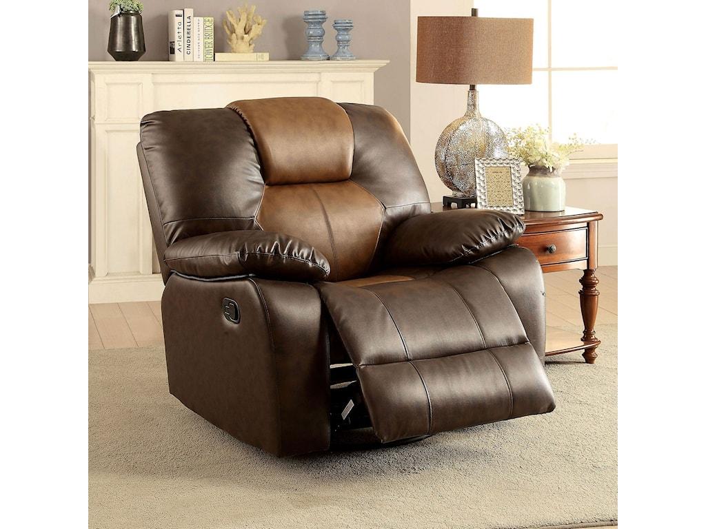 Furniture of America PolluxRecliner