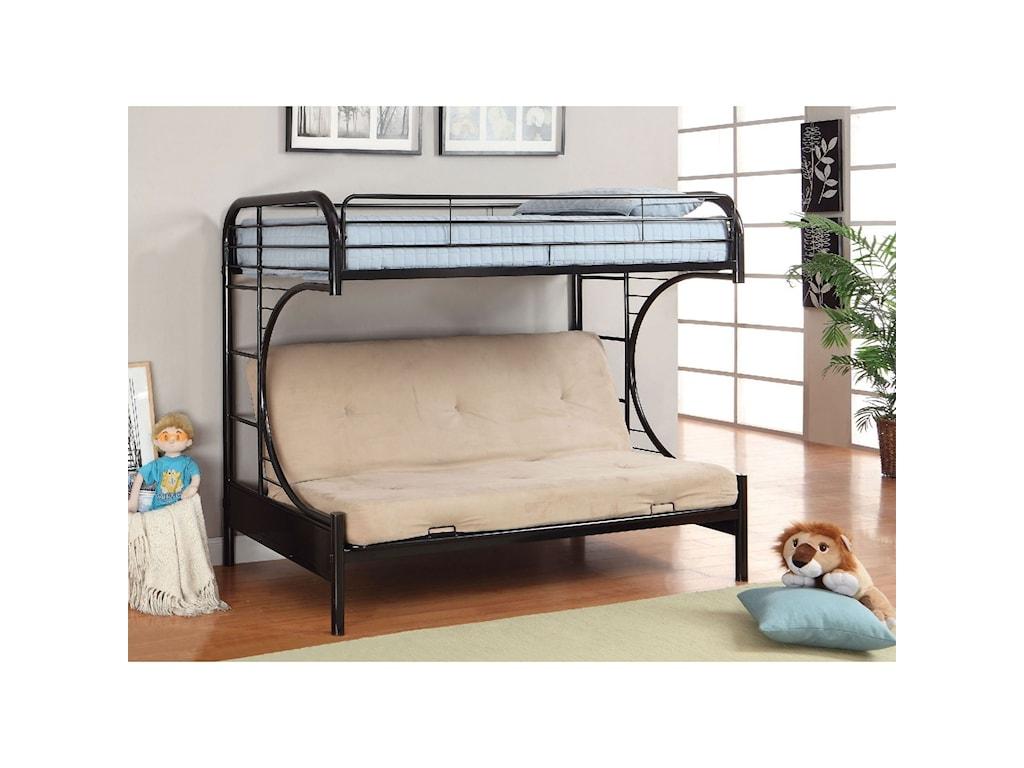 Furniture Of America Rainbow Cm Bk1034 Bk Bed Twin Loft
