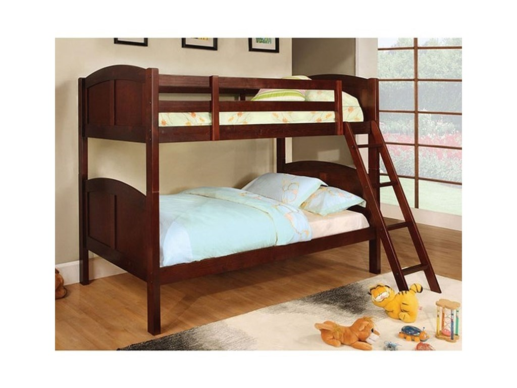 Furniture of America RexfordTwin/Twin Bunk Bed