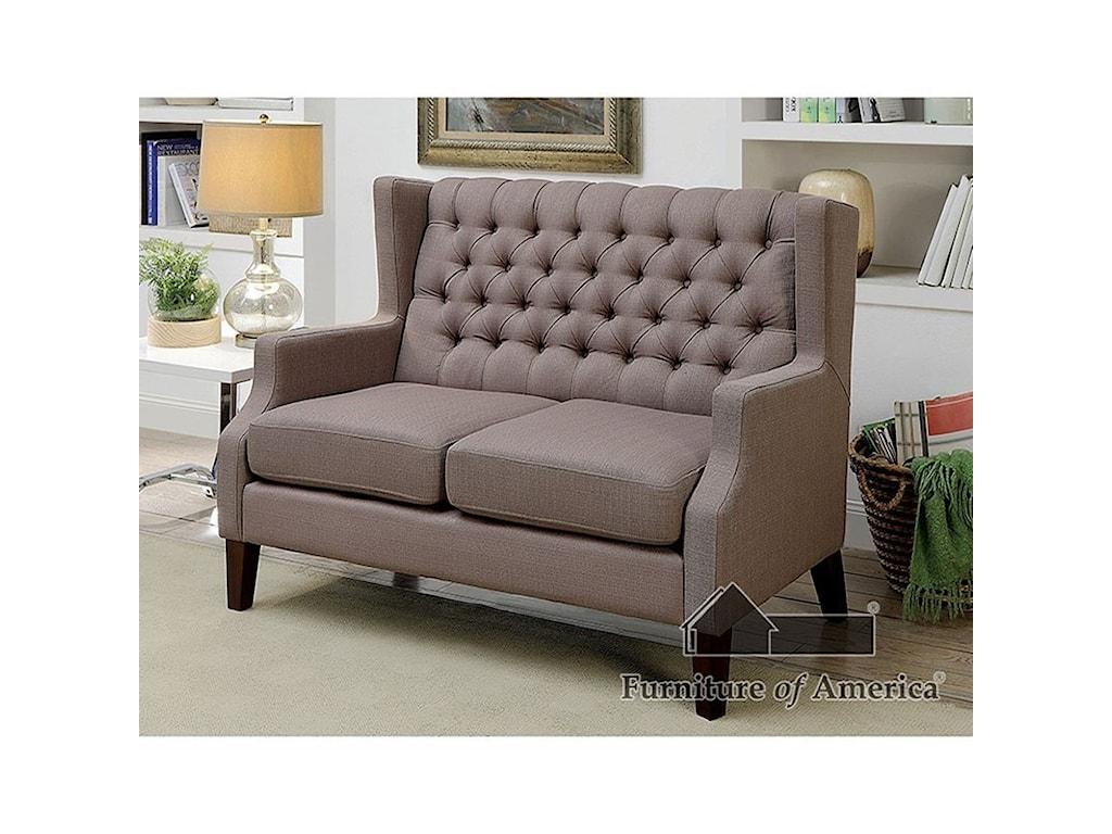 Furniture of America RobinLoveseat