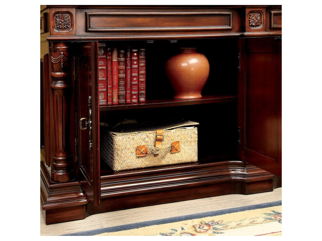 Furniture of America RooseveltBook Shelf