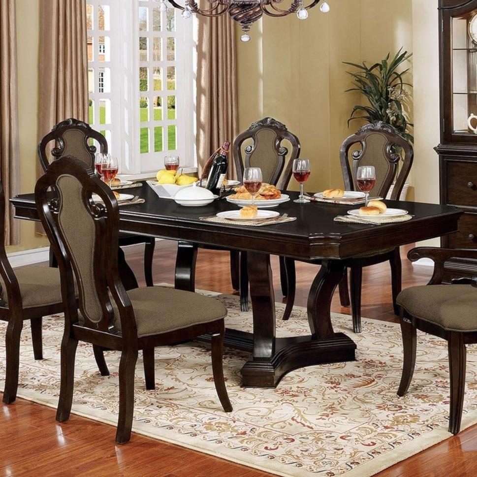 Furniture of america rosalinadining table