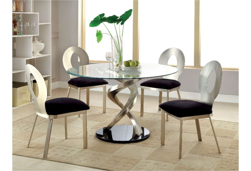 Roxo Round Dining Table