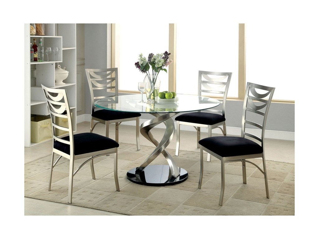 Furniture of America RoxoRound Dining Table