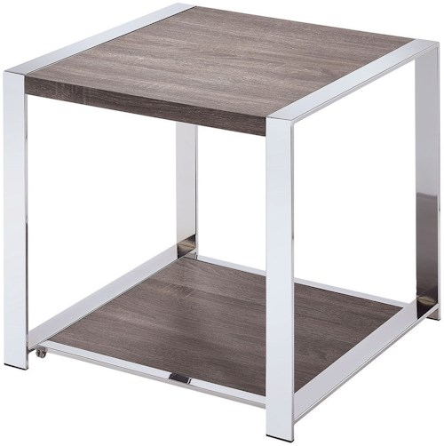 Furniture of America Rylie End Table