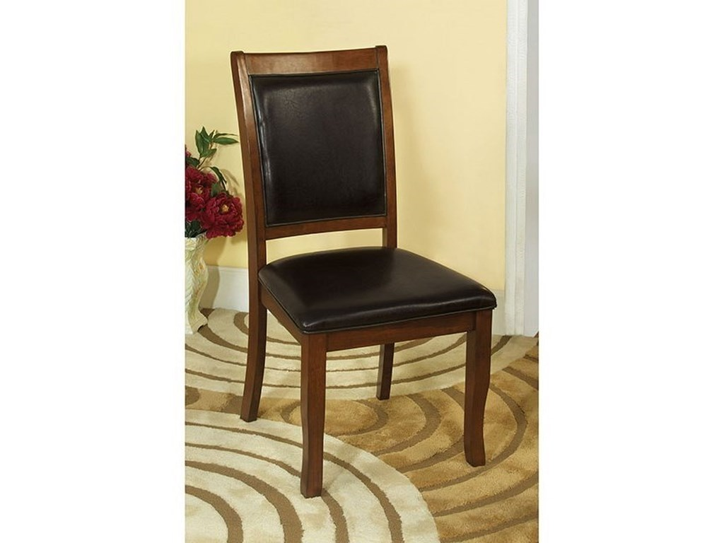 Furniture of America Sandy PointSet of Two Side Chairs