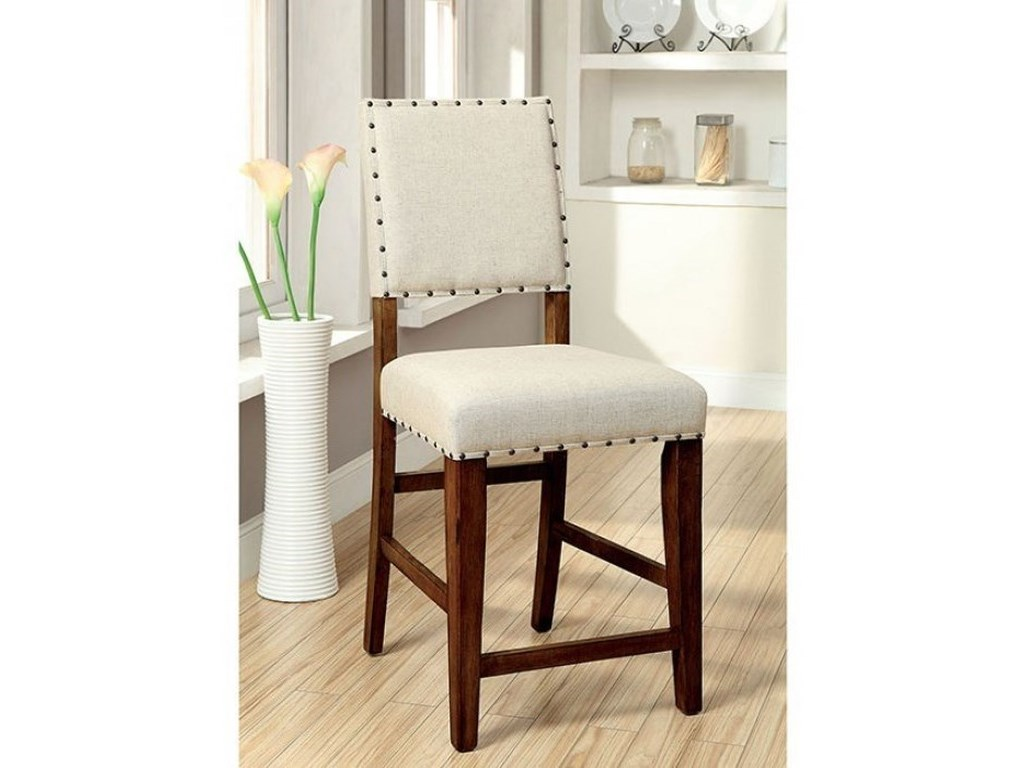 Furniture of America SaniaCounter Height Chair