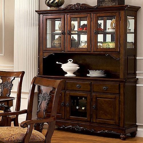 Furniture of America Seymour Buffet
