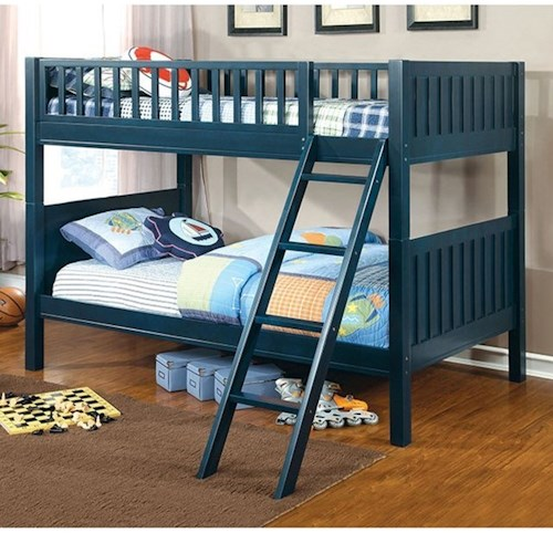 Furniture of America Solpine Twin/Twin Bunk Bed