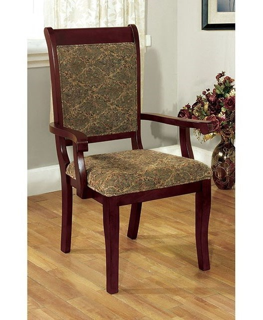 Furniture of America St. Nicholas I Arm Chair (2/CTN) | Rooms for ...
