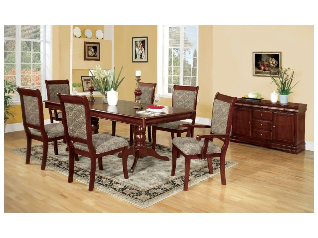 Furniture of America St. Nicholas I CM3224T-TABLE Dining Table | Del ...