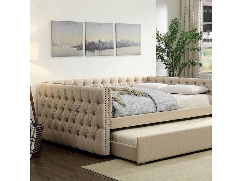Furniture of America SuzanneTrundle