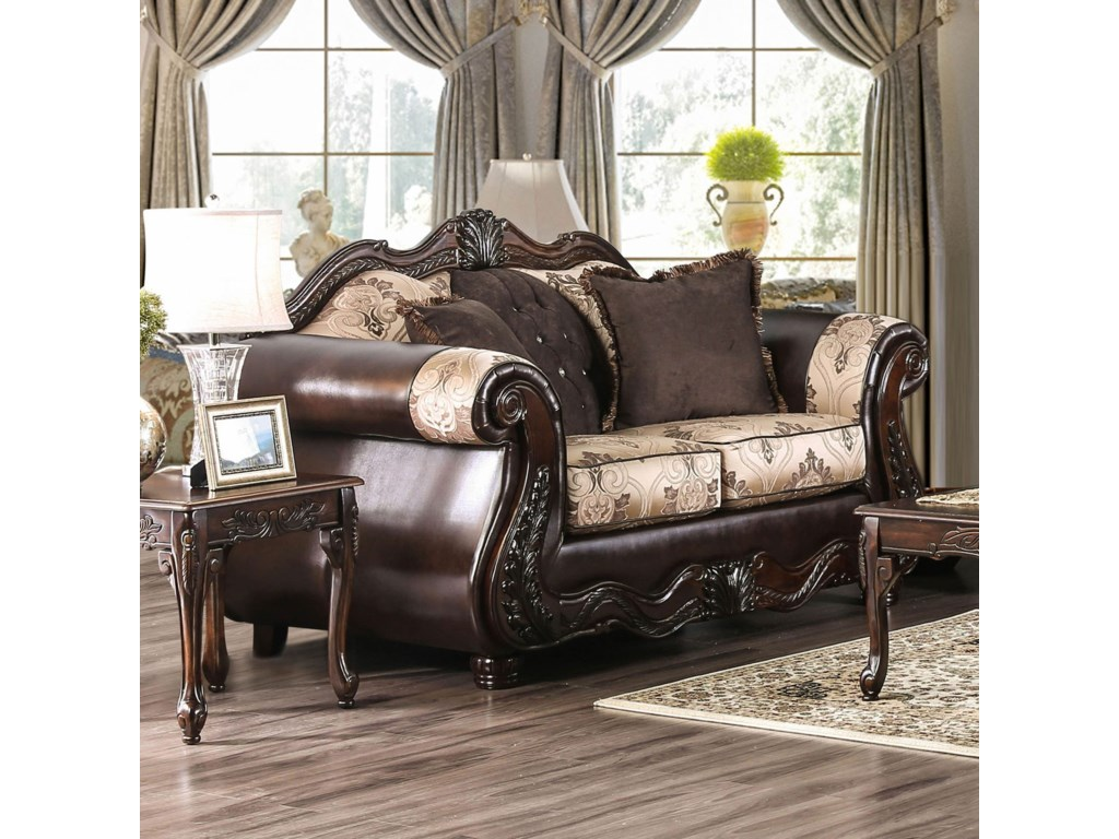 Furniture of America TalithaLove Seat