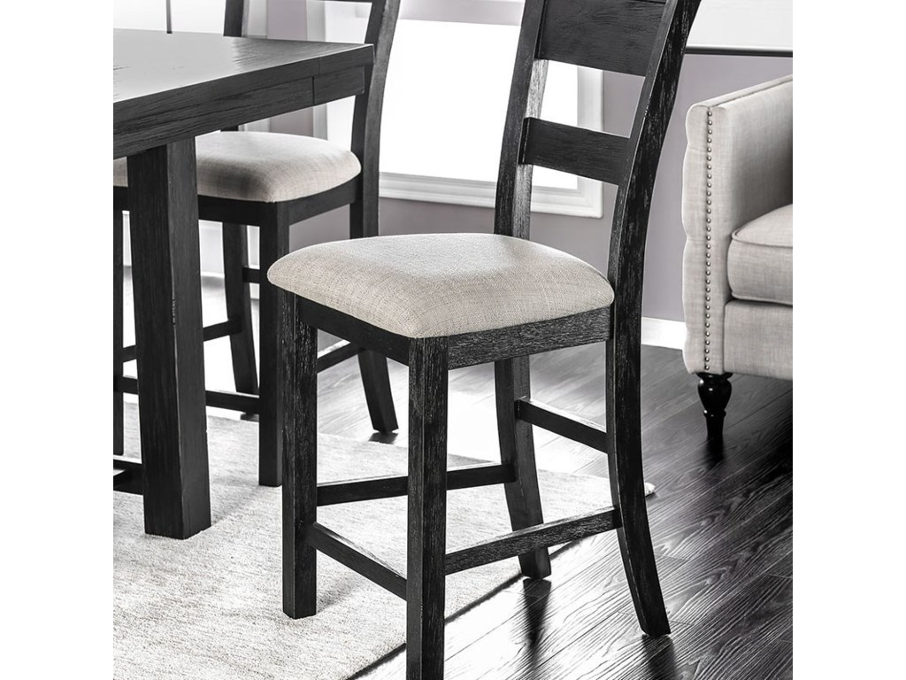 Furniture of America Thomaston I Counter Height Stool Set